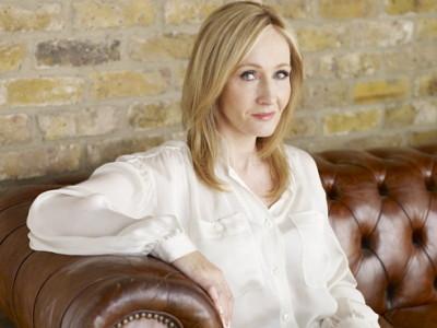 La autora J.K. Rowling