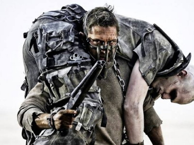 Tom Hardy, protagonista de Mad Max Fury Road
