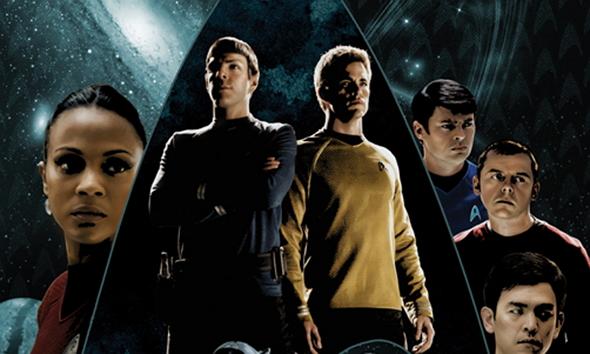Los protagonistas de Star Trek (2009)