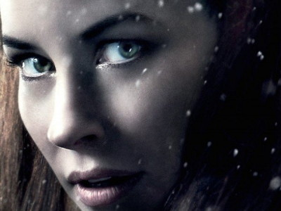 Evangeline Lilly en el póster de El Hobbit: La batalla de los cinco ejércitos (The Hobbit: The Battle of the five Armies)