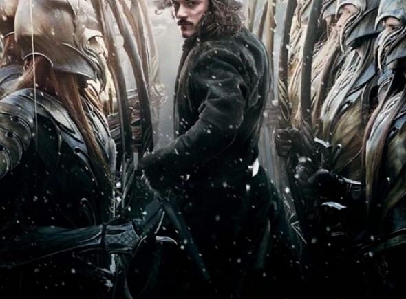 Luke Evans protagoniza el póster de El Hobbit: la batalla de los cinco ejércitos (The Hobbit: the battle of the five armies)