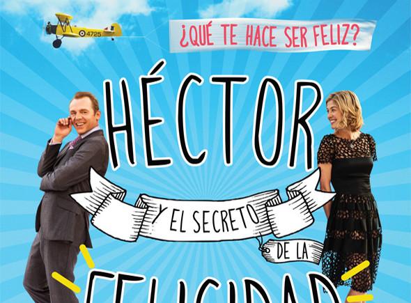 Póster en español de Héctor y el secreto de la felicidad
