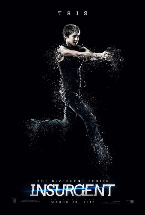 Tris, protagonista del póster de 'Insurgente (Insurgent)'