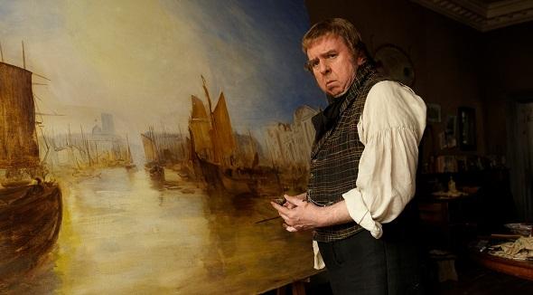 Timothy Spall en 'Mr. Turner'