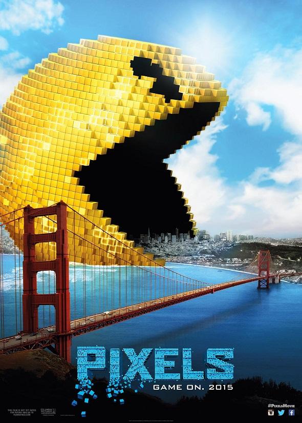 El Comecocos ataca San Francisco en 'Pixels'