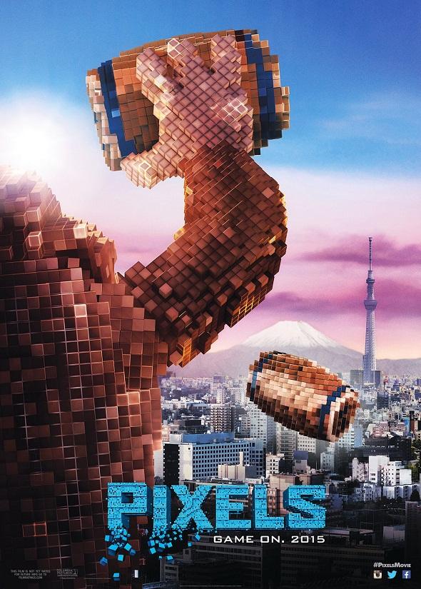 Donkey Kong la toma con Tokio en otro póster de la película