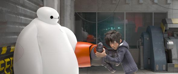 Baimax y Hiro