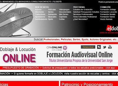 El doblaje. com