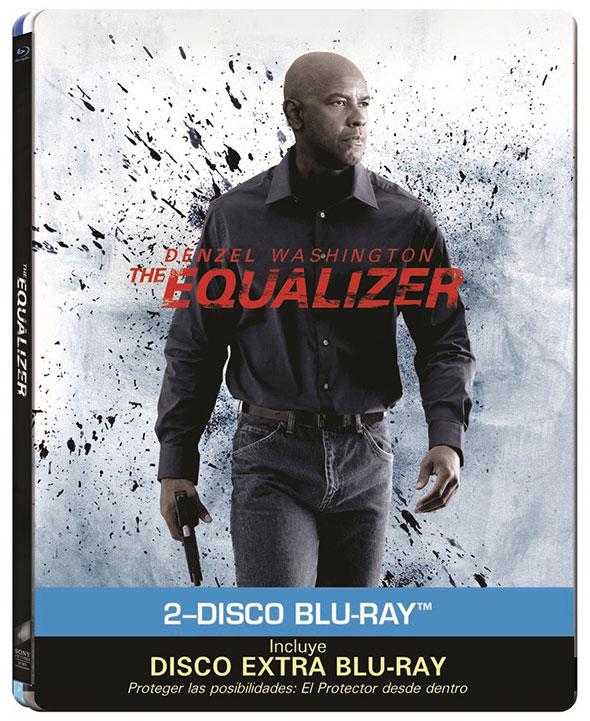 Edición metálica Bluray de The Equalizer (el Protector)
