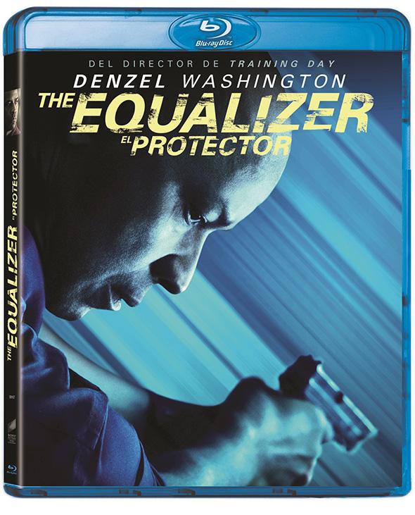 Carátula del Bluray de The Equalizer (el Protector)