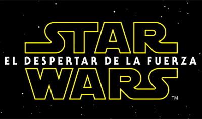 Logotipo de Star Wars: El despertar de la fuerza
