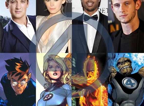 Los actores protagonistas de Los Cuatro fantásticos