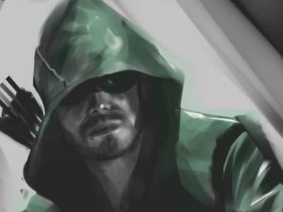 Arte conceptual de la serie 'Arrow'