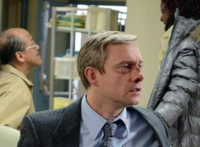 Martin Freeman, en una imagen de la primera temporada de 'Fargo'