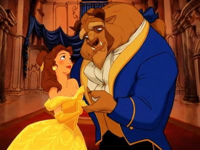 Una imagen del clásico de Disney La bella y la Bestia