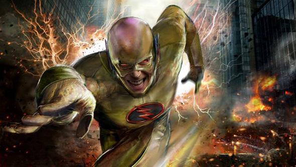 Otra imagen del malvado Reverse Flash