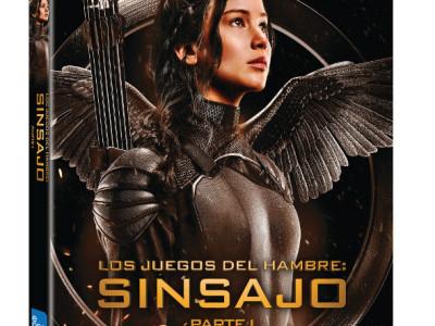 Carátula BD Edición Especial Sinsajo Parte 1