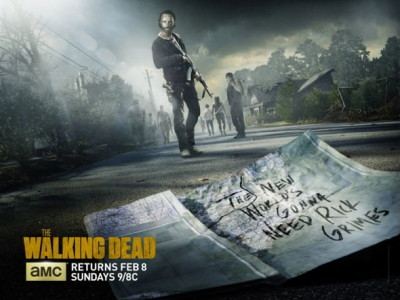 Póster de la quinta temporada de The Walking Dead
