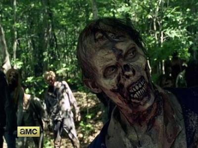Una imagen de la serie The Walking Dead
