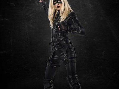 Katie Cassidy como Black Canary en 'Arrow'
