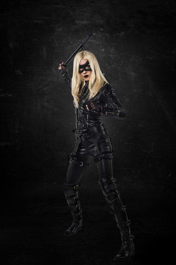 Katie Cassidy como Black Canary en 'Arrow'