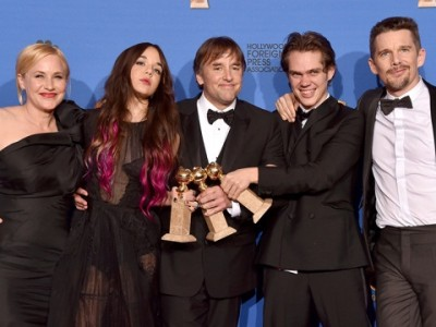 Director y reparto de 'Boyhood'