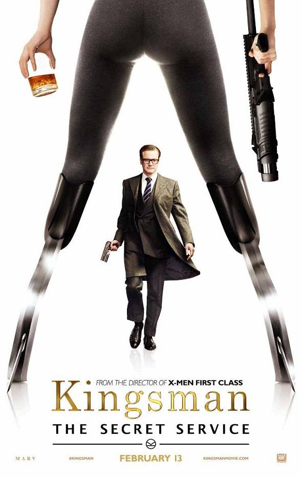Colin Firth protagoniza el póster de Kingsman: Servicio Secreto (Kingsman: The Secret Service)