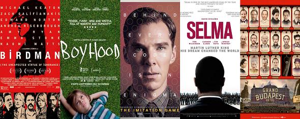 Algunos de los títulos candidatos a mejor película
