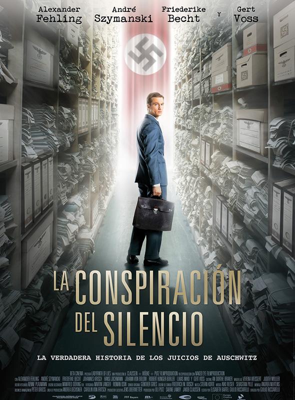 Póster de 'La Conspiración del Silencio'.