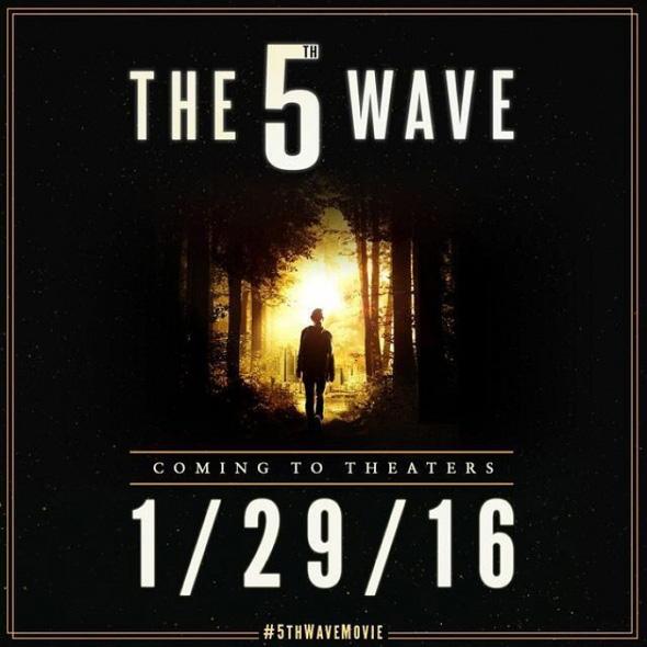 Póster promocional de The 5th Wave