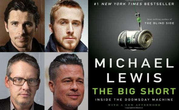Brad Pitt, Ryan Gosling y Christian Bale protagonizarán 'The big short'