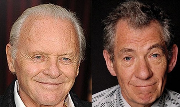 Anthony Hopkins e Ian McKellen protagonizarán 'The dresser'
