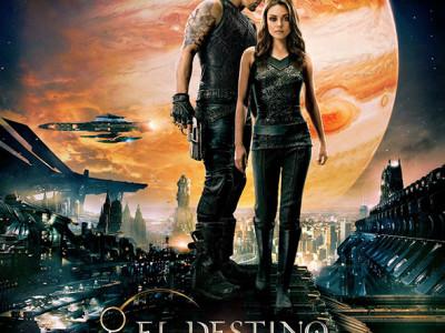 Imagen del Póster en español de 'El destino de Júpiter (Jupiter Ascending)'
