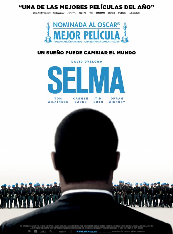 Póster oficial de 'Selma'.