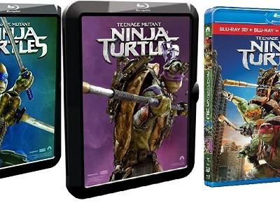 Ninja Turtles. Ediciones domésticas