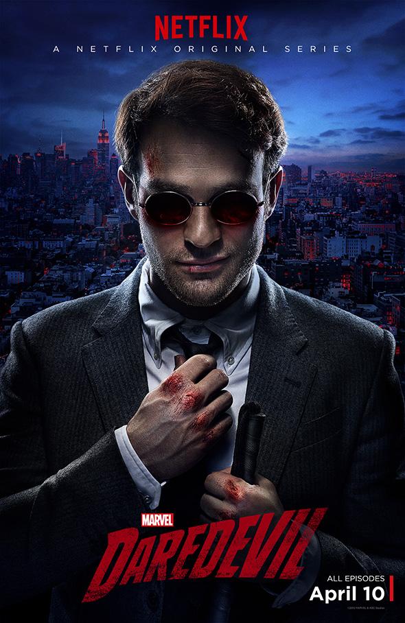 Póster de la serie 'Daredevil', con Matt Murdock
