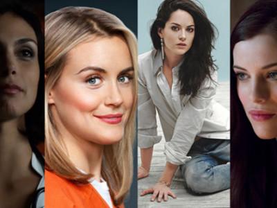 Una imagen de Morena Baccarin, Taylor Schilling, Sarah Greene y Jessica De Gouw