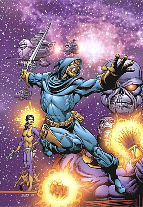 Una imagen del cómic Dreadstar