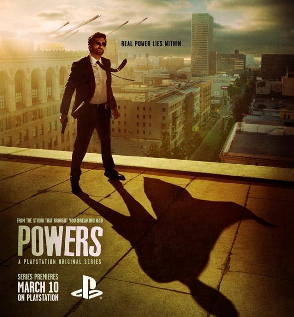 Imagen del Póster de la serie Powers