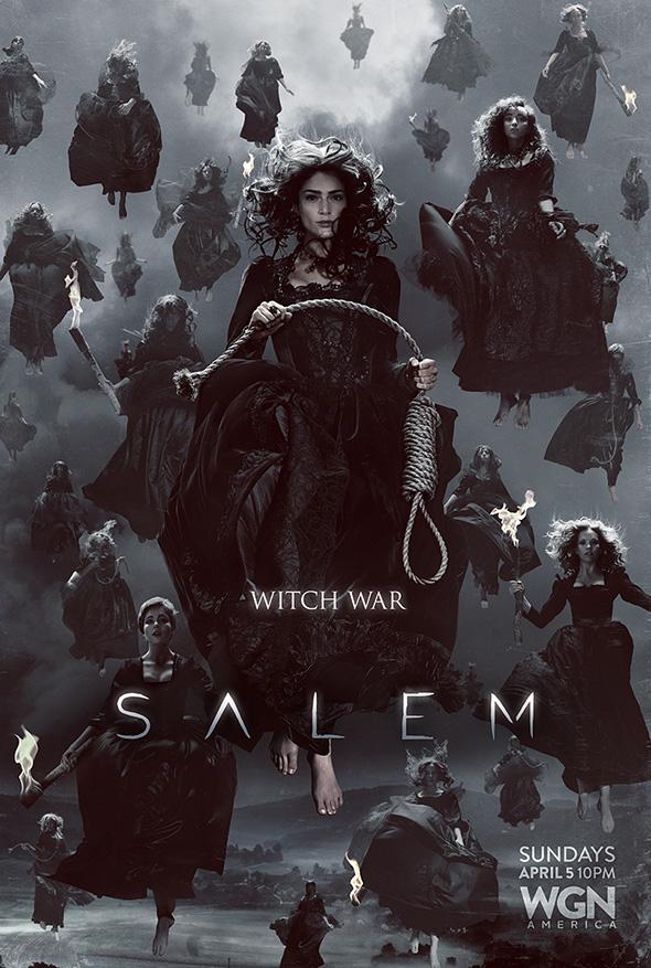 Póster de la segunda temporada de Salem