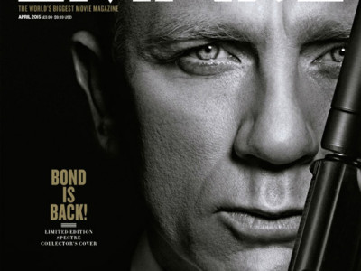Imagen de James Bond en la Portada de Empire