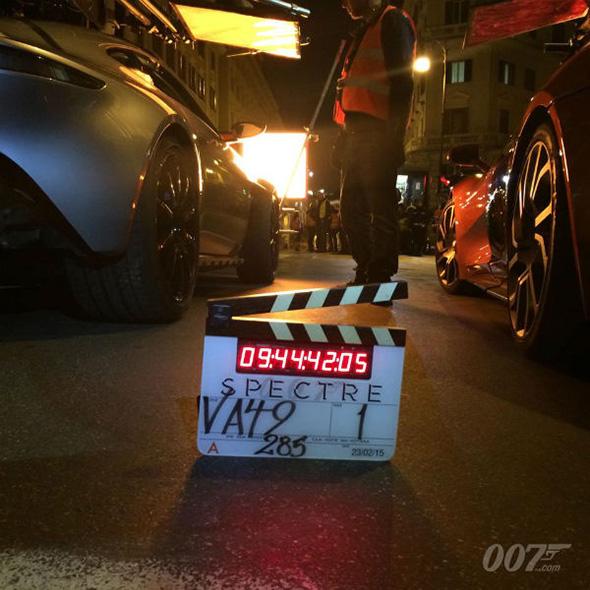 Una imagen del Aston Martin de Spectre