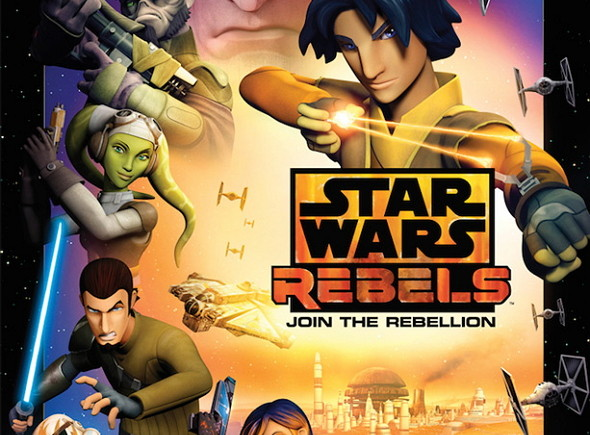 Póster de la serie Star Wars:Rebels