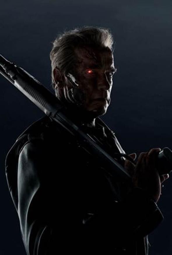 Arnold Schwarzenegger is back!