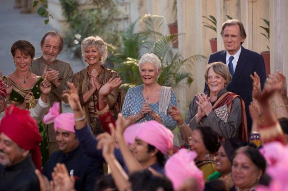 Imagen de la película 'El nuevo exótico Hotel Marigold'