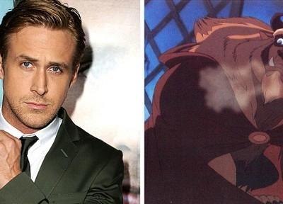 Ryan Gosling podría protagonizar 'La bella y la bestia'