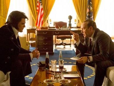 Shannon y Spacey en 'Elvis & Nixon'