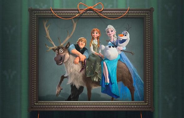 Una imagen promocional de Frozen Fever