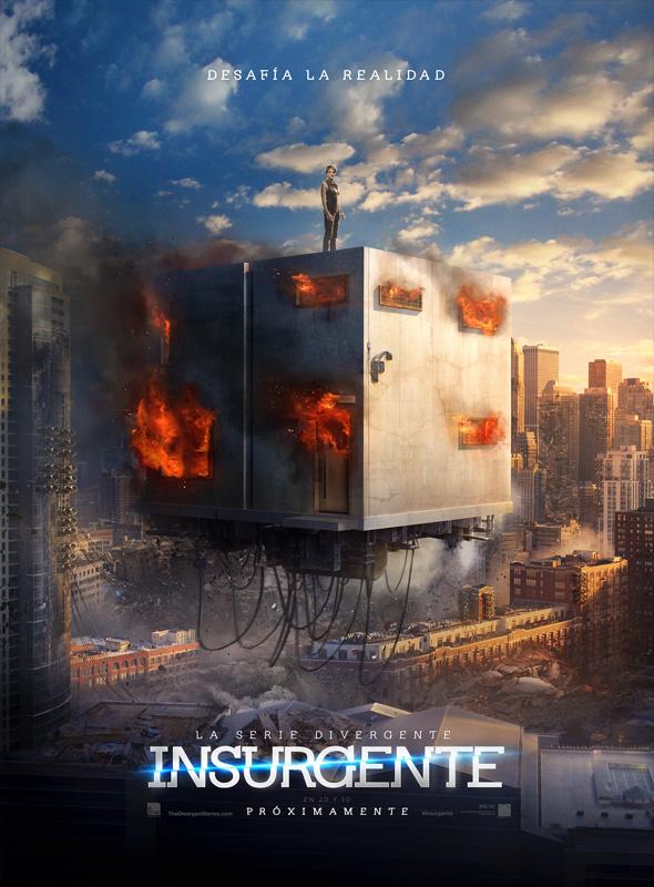Póster en español de Insurgente (Insurgent)