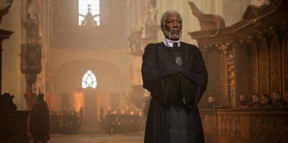 Morgan Freeman es otro de los reclamos del film